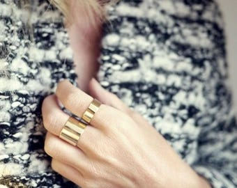 Gold Rings,  Gold Band, Stack Rings, Dainty Rings, Thin Rings, 1 pc