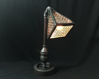 Harley Steampunk Industrial lamp