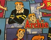 Archie Comic Cotton Fabric by the Yard (Archie)