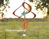 """Zenith 18"""" Hummingbird Wind Spinner   BreezeWay Arts"""