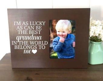 Grandma Picture Frame, Gift for Grandma, New Grandma Gift, Grandma Quote, Grandma to Be, Grandma Pregnancy Announcement, Best Grandma