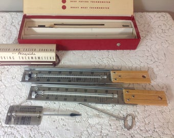 Airguide Cooking Thermometer Set Candy Thermometer Meat Thermometer Frying Thermometer