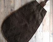 Clip On Beaver Tail in 4 Sizes, Brown Felt with Metal Clip, Clips to Pants or Shirt, Made in USA, Furry, Costume, Dress Up Beaver Tail