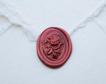 Flower Wax Seal