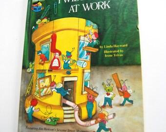 Vintage Children's Book, Twiddlebugs At Work