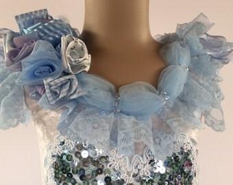Sky blue fairy dress