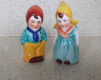 Pair of Dutch Children Shakers