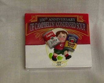 Vintage Campbell Kids - Cans of soup  -   Refrigerator Magnet - still  Sealed in Package!