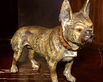 Large Metal French Bulldog-Heyde