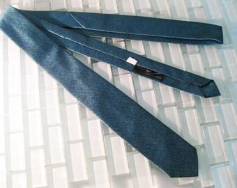 Blue Very Skinny Tie Mod Mad Men - BBB New York City
