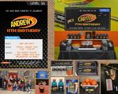 BULLSEYE + ARCHERY + DARTS // Birthday + Adult Invitation (multiple styles) - Full Service Printing + Coordinating Items Available