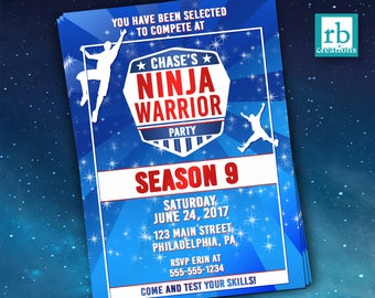 American Ninja Warrior Certificate Of Completion Diy Printable