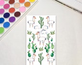 Whimsical Llama Planner S...