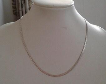 Gorgeous vintage 925 silver chain necklace