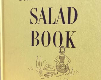 Better Homes and Gardens, salad book, vintage cookbook, salad recipes