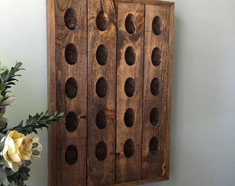 French Riddling Rack, Wine Rack, Riddling Rack, 20 Bottle Riddling Rack