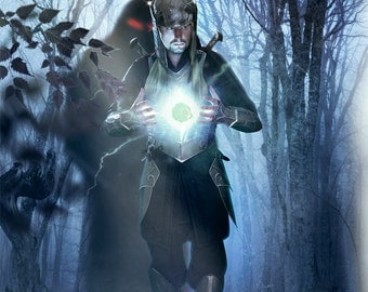 """Larp, Elven, Thranduil, fantasy, kinght, medieval costume, steel armor, armour: Cuirass """"FOREST SOUL"""""""