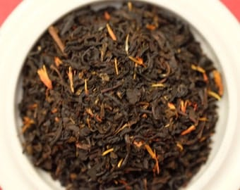 Organic Black Tea: Organic Cherry Tea, Loose Leaf Tea, Organic Loose Tea Blend