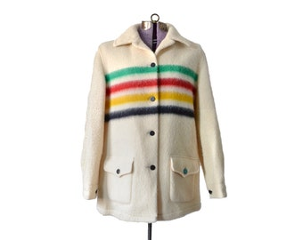 Hudson Bay Coat, Vintage Clothing, Womens Coat, Winter Coat, Vintage Coat, Vintage Hudson, Womens Hudson, 1960s Hudson, 60s Hudson