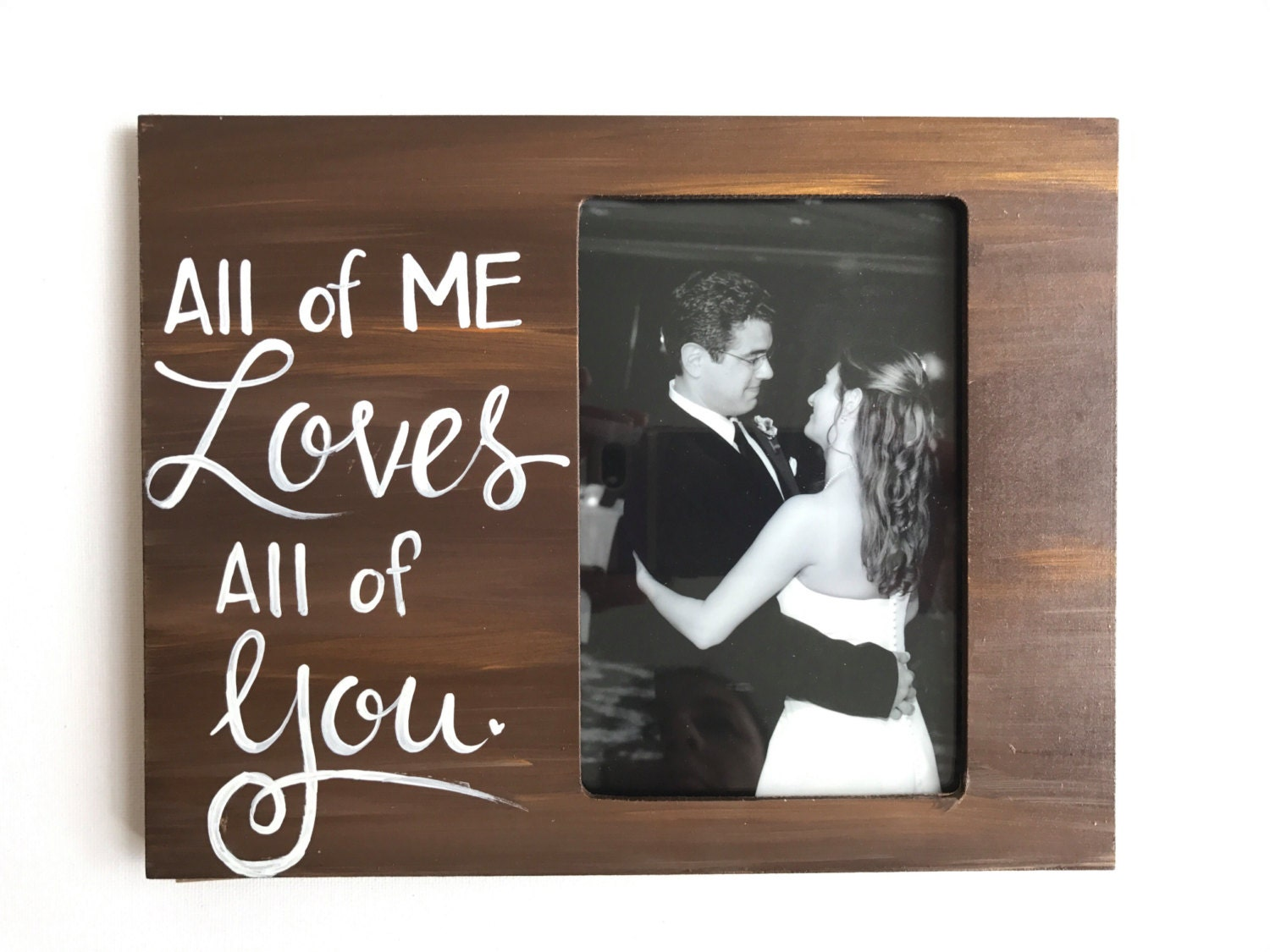 Love Picture Frame Gift For Him Picture Frame For Wife