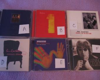 Music, CD, The Beatles, George Harrision, John Lennon, Paul McCartney, Vintage