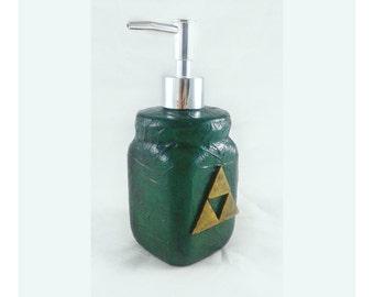 Triforce Soap Dispenser, Legend of Zelda soap pump