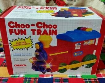 Creatoy Choo Choo Fun Train unused