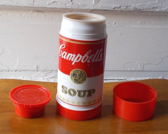 Vintage Aladdin Thermos Campbell's Soup Wide Mouth 10oz