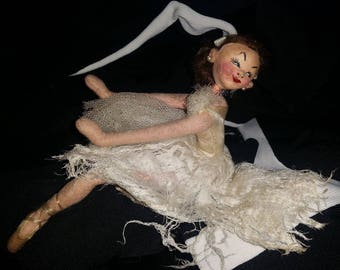 ROLDAN Ballerina Doll Antique Vintage - Tag Attached! AUTHENTIC! Made In Spain