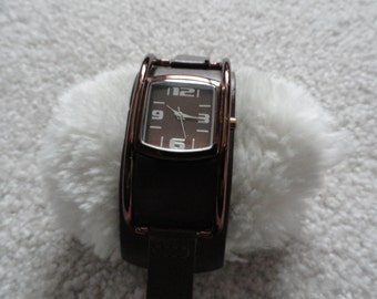 Ladies Quartz Watch - Brown Dial and Band