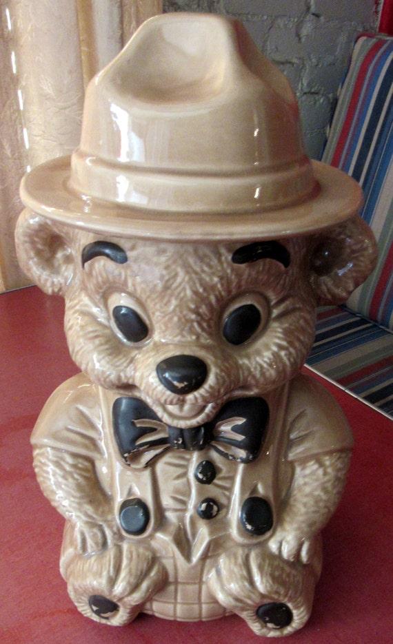 Cookie Jar Smokey the Bear Ranger Bear
