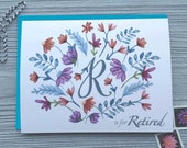 Retirement Card, Retirement Wishes, Retirement Quotes, Retirement Greetings, Let Your New Life Bloom