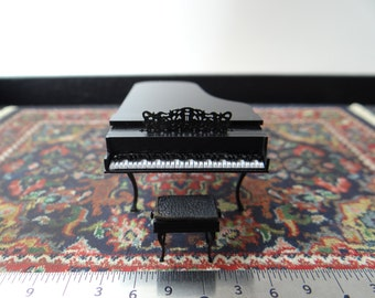"1/4"" Grand Piano with Bench"