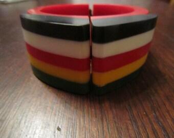 Philadelphia Style Resin Bracelet
