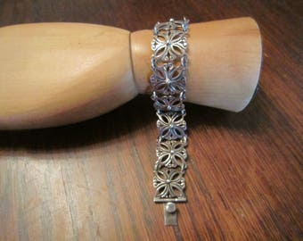 J Flores Sterling Link Bracelet