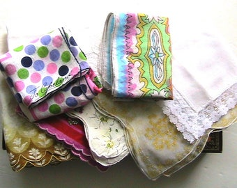 Hankies, Vintage Hankies and Vanity Box Set, Jo Copeland Handkerchief