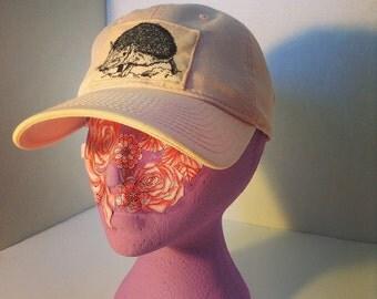 Hedgehog Baseball Cap (Dad Cap) Pink