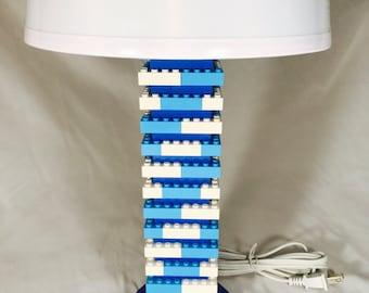 LEGO® Lamp - Blue & White
