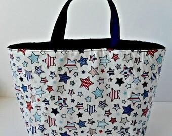 Stars and Stripes Bucket Bag