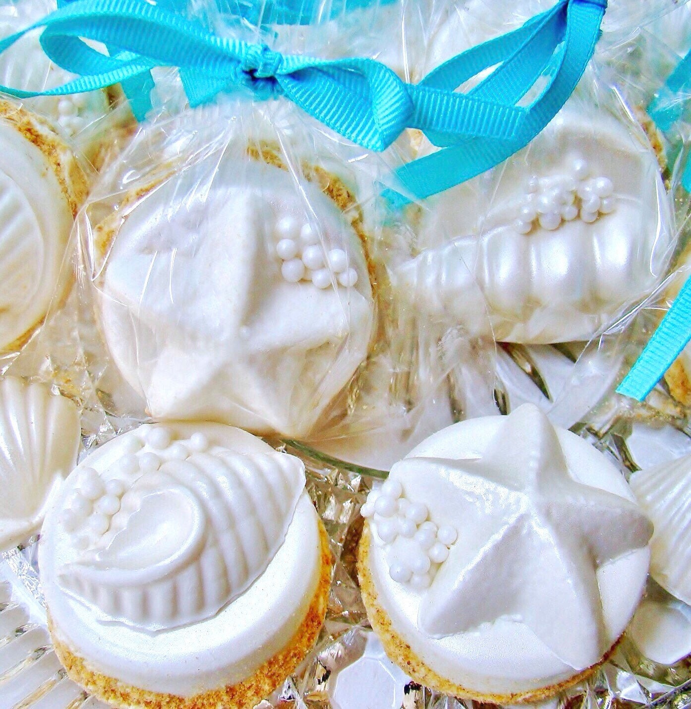 Chocolate Covered Oreo Cookies Beach Wedding Favors Edible
