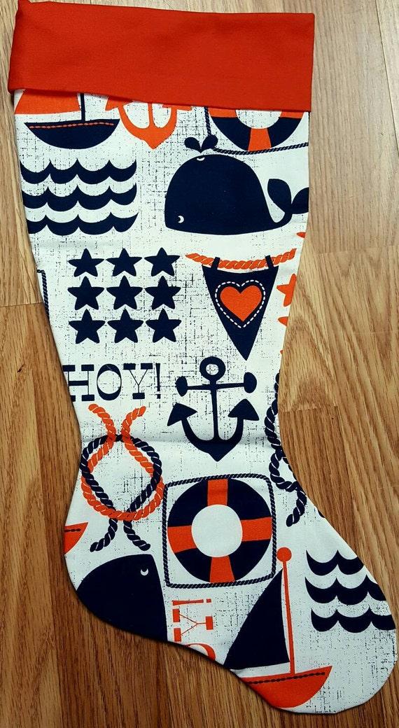 Nautical Christmas Stocking