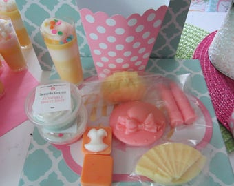 Deluxe Wax Sampler Bag~Divalicious Wax Melt - Fragrance scented candle melts- Handmade Candle Melts