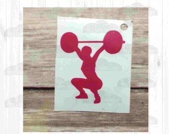 Weightlifter Decal