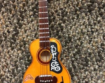 Brad Paisley custom made Christmas Ornament XMAS Acoustic  Guitar rare