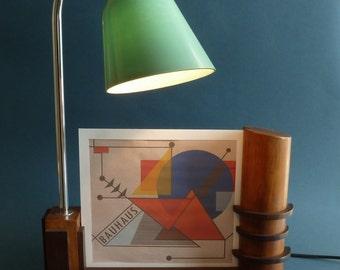Bauhaus   desk lamp - photo frame
