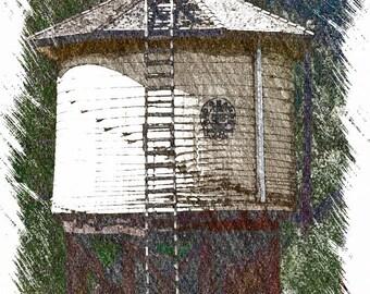 Durango Silverton Railroad Water Tower