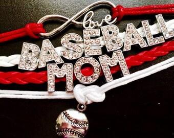 Baseball Mom Bracelet