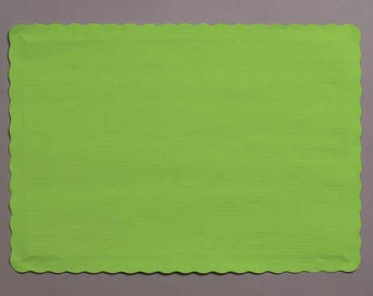 50 Lime Paper Placemats