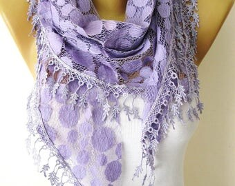 Purple Scarf - Elegant scarf-gift Ideas For Her-Women's Scarves-christmas gift- for her -Fashion accessories-Shawls