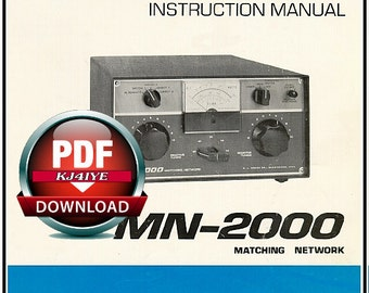 Cb antenna etsy download drake mn 2000 owners manual schematic mn2000 antenna tuner book download sciox Gallery